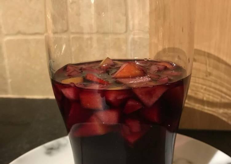 Recipe of Award-winning Easy 10 Minutes Sangria