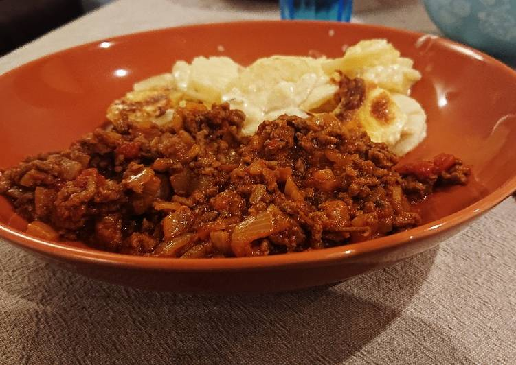 Hungarian Savoury Mince Beef