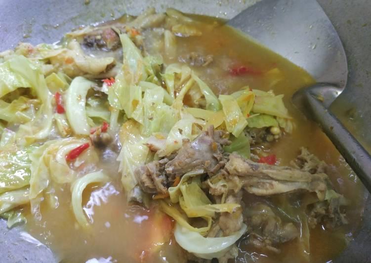 Tongseng Ceker + Tulangan Ayam #43