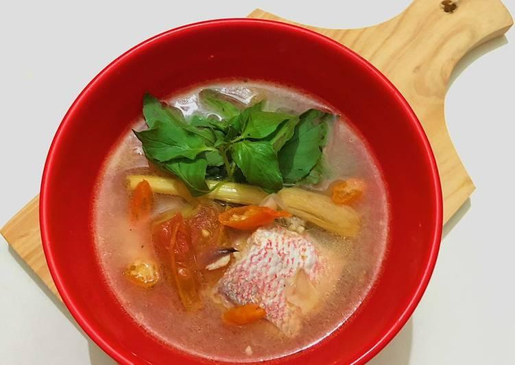 Resep Sop Kakap Merah #dapurwiwin 👩🏻🍳 Yang Mudah Enak