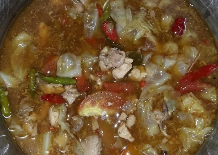 Tongseng Ayam ala dapur iis