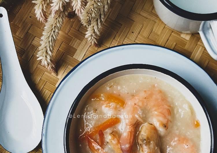 Bubur Nasi Bersantan - resepipouler.com