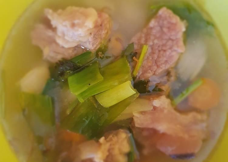 Resep Sup Daging 🥩🥩 Yang Mudah Lezat
