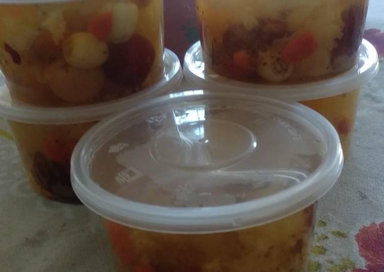 Rahasia Menghidangkan Peach gum collagen dessert Anti Gagal!