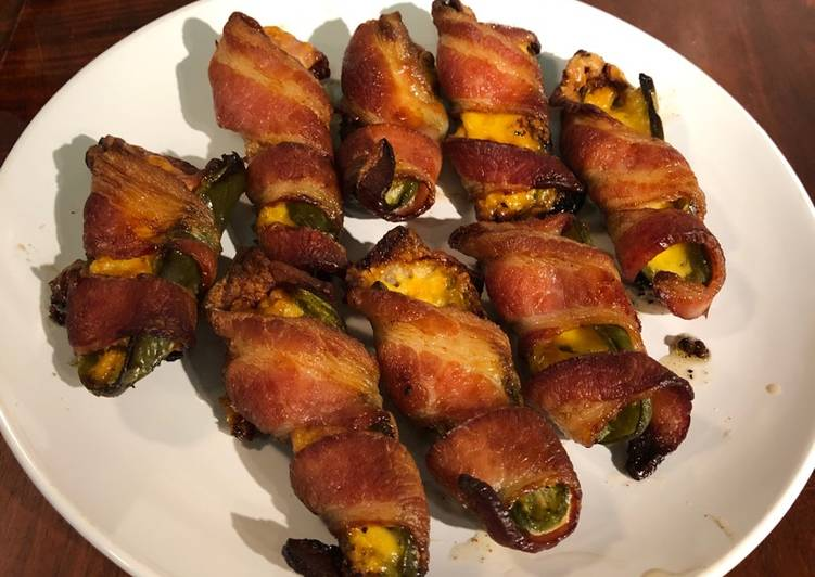 Easy cheesy Jalepeno poppers