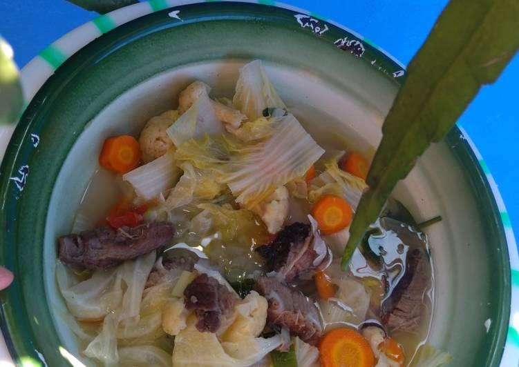 Resep Sop Kerbau Dg Sayur Mcm2 Oleh Nia Halwa Cookpad