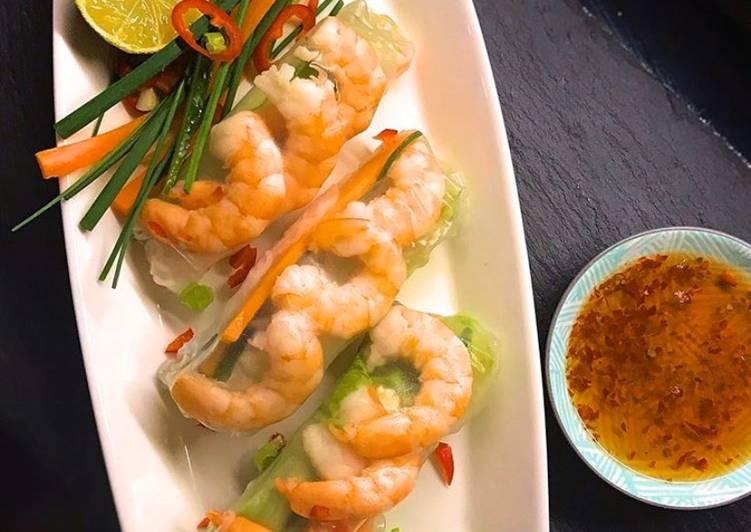 Easiest Way to Prepare Perfect Vietnamese summer rolls