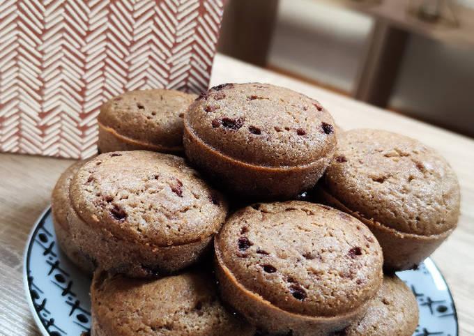 Muffins banane/choco sans gluten !