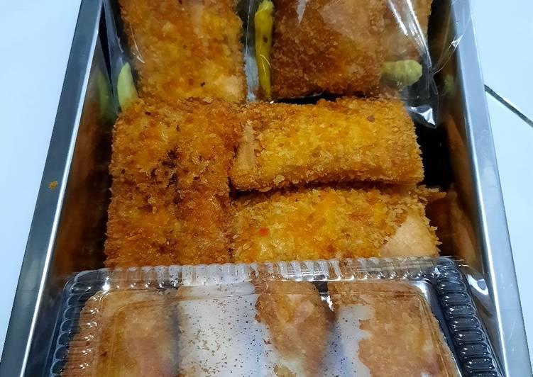 Resol mayo dari roti tawar