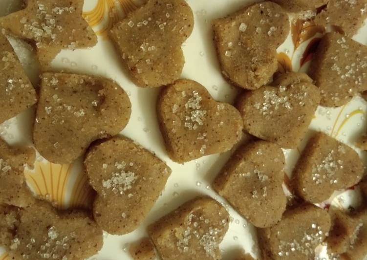 Homemade Coconut and Semolina Burfi - Laurie G Edwards