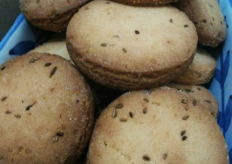 Simple Way to Make Most Popular Homemade Ajwain Cookies