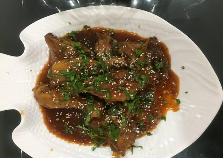 Sticky Asian Glazed Chicken(Dry Appetizer)