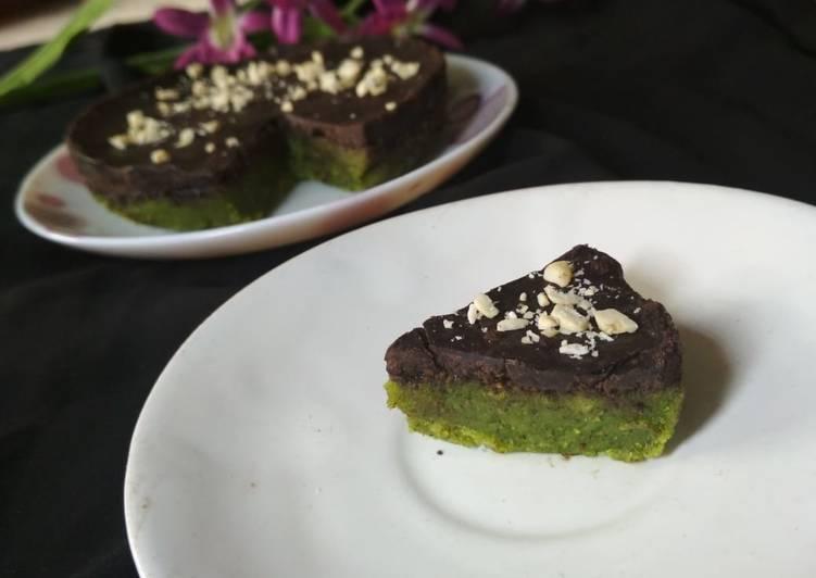 Recipe of Super Quick Homemade No bake choco kiwi cake
