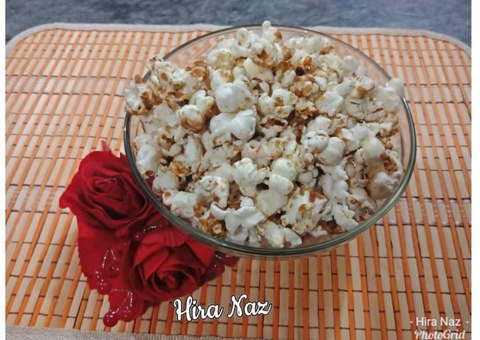 Recipe: Yummy Caramel Popcorn