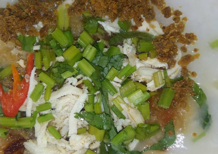 Bubur Ayam Sambal Tumbuk - velavinkabakery.com