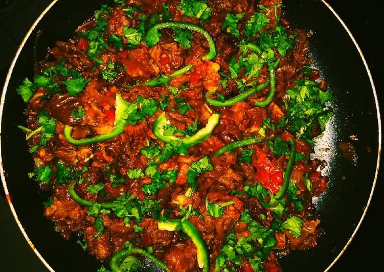 Recipe of Favorite Wet Fry Mbuzi choma