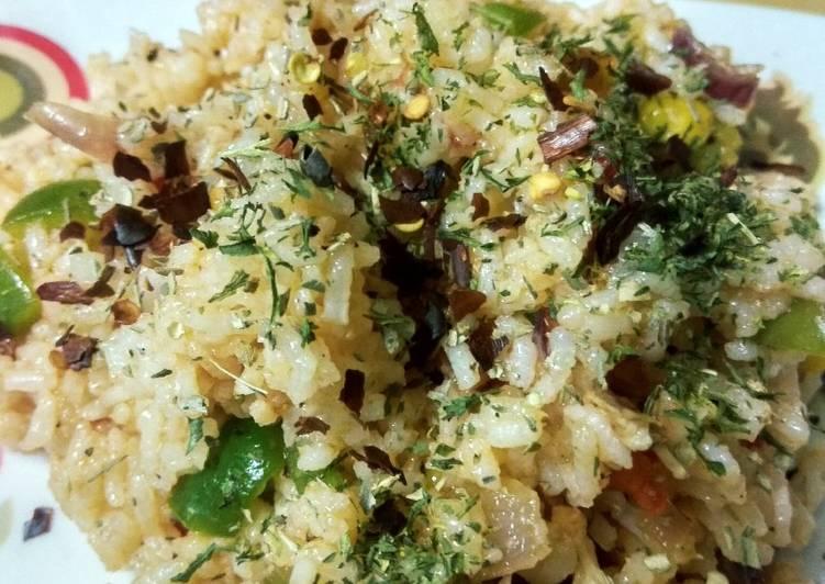 Chicken tomato herb rice