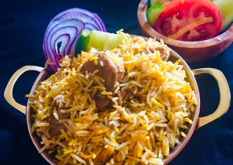Easiest Way to Prepare Perfect Kolkata style Chicken Briyani