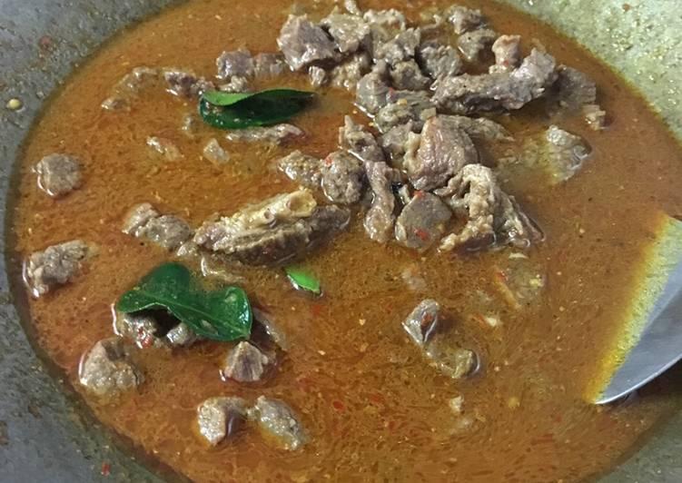 Tongseng kambing ala Chef Turnip