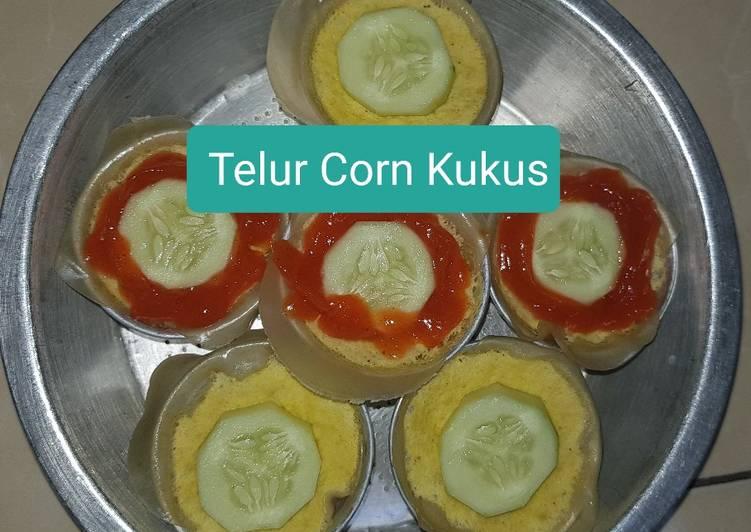 Telur Corn Kukus