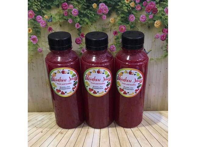 Diet Juice Beetroot Carrot Cherry Mango Lemon