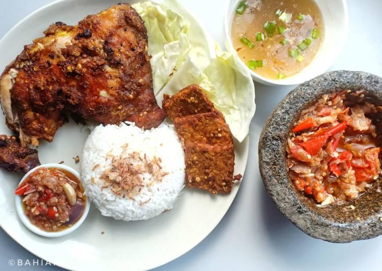 Resipi Nasi Ayam Penyet Oleh Bahiah Saripuddin Cookpad