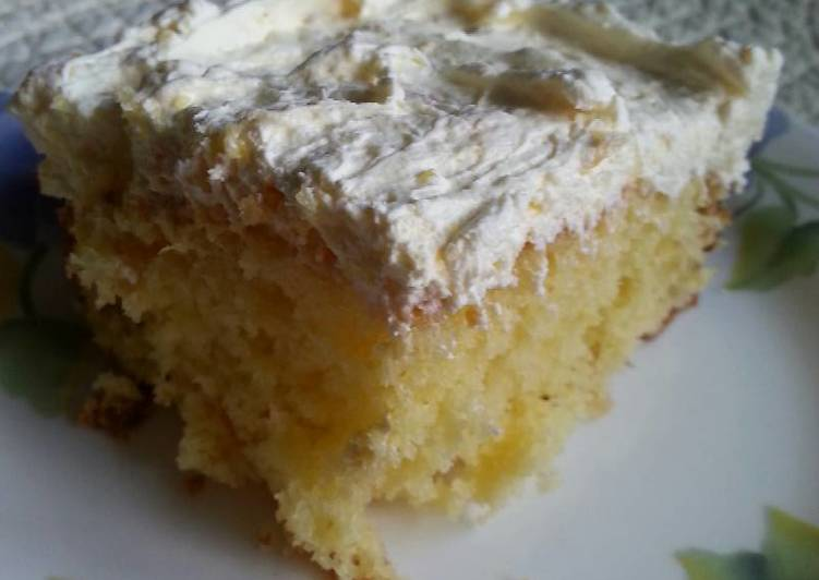 Use Food to Improve Your Mood Pineapple Sunshine Cake