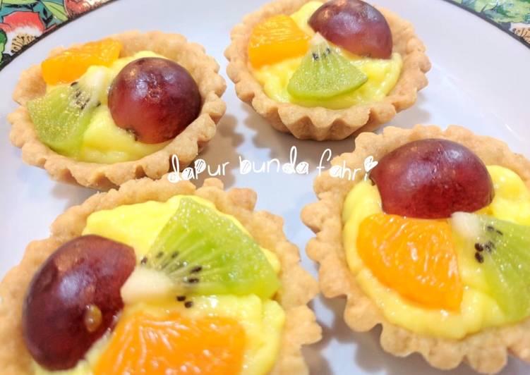 Resep Pie buah mini ekonomis Bikin Jadi Laper