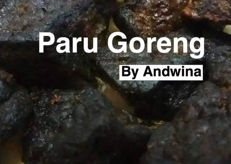 Paru Goreng (Manis)