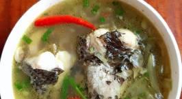 Hình ảnh món Canh cá lóc nấu bầu