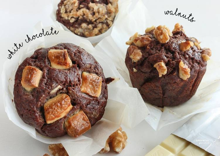 How to Make Perfect Chocolate Banana Muffin