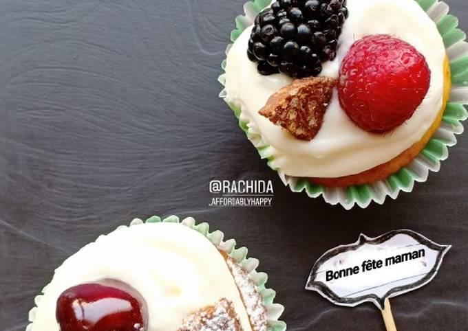 Muffins aux bananes et fruits secs pour la fête des mamans