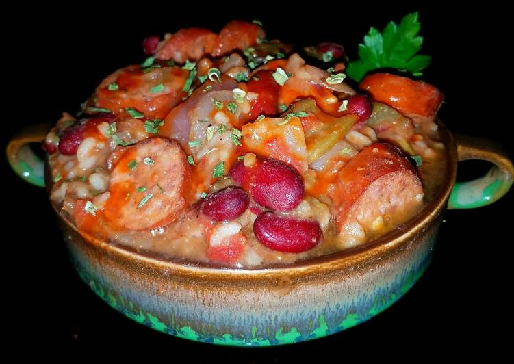 Mike's EZ Red Beans & Rice