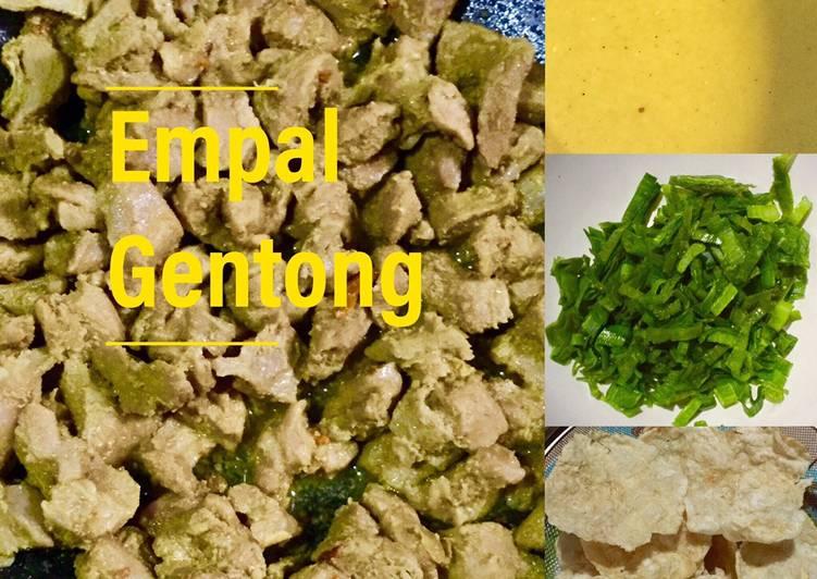 Resep Empal Gentong enak dan mudah