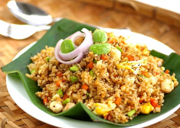 Black Pepper Petai Fried Rice
