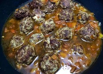 Easiest Way to Make Perfect Hamburger Meatballs in Soy Sauce