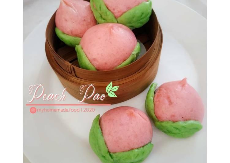 Bagaimana Mengolah Peach Pao (Bakpao Karakter), Lezat