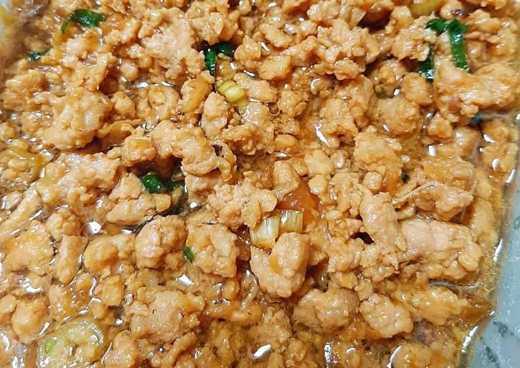 Ayam Kecap (Mie ayam / Nasi Tim)
