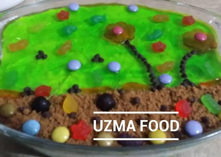 Simple Way to Make Homemade Aquarium Fruit custard