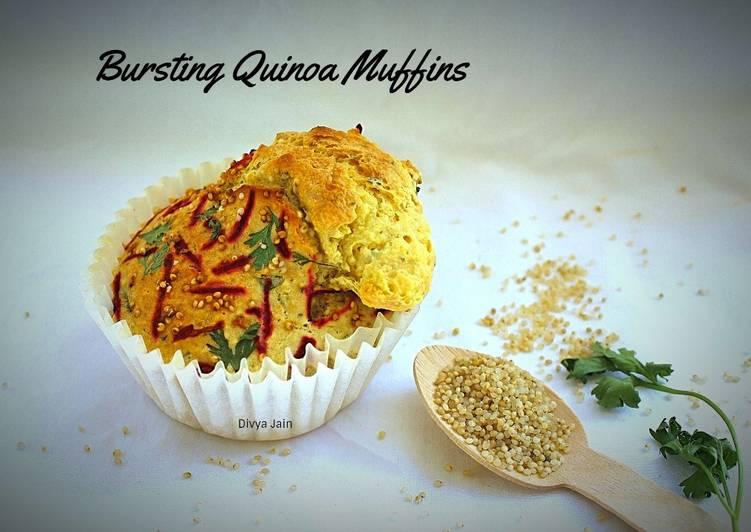 Simple Way to Make Speedy Bursting Quinoa Muffins