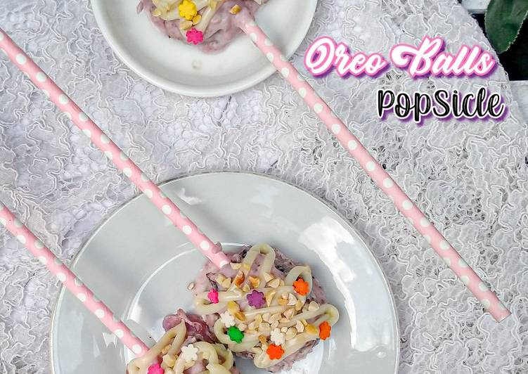 Resep Oreo Balls Popsicle Yang Enak Best Recipes
