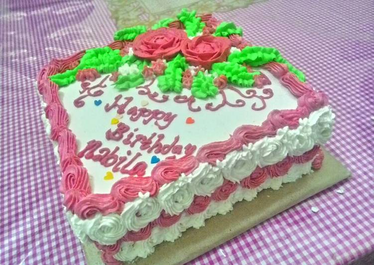Resep Kue Ulang Tahun Bolu Jadul Empuk Oleh Umma Humaira