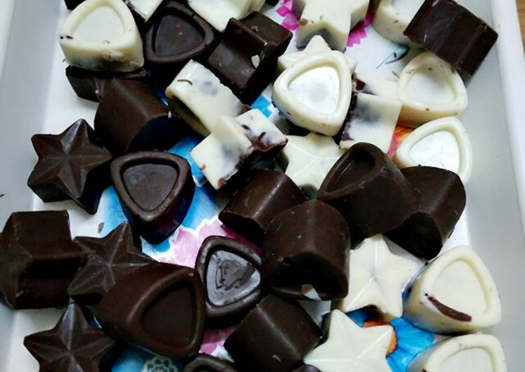 Nuts chocolates