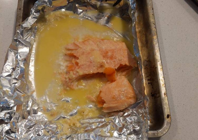 Recipe: Tasty Baked salmon