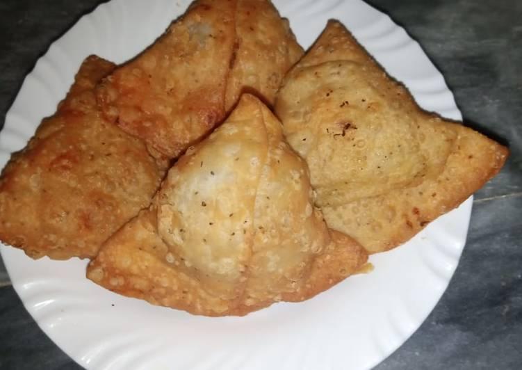 Recipe of Speedy Qeema Samosay