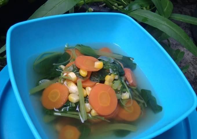 73. Sayur Bening Seger 🥣 Sayur Balita 🥣 Sayur Bayam
