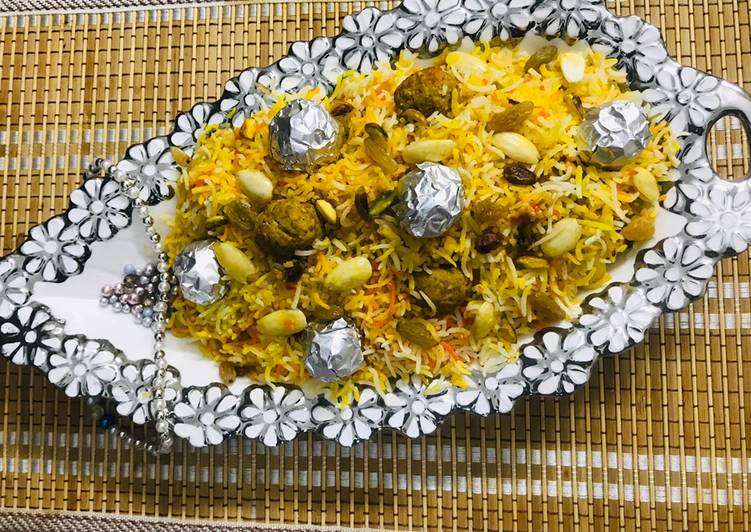 Do Not Waste Time! 10 Facts Until You Reach Your Moti polao(traditional)Eid special