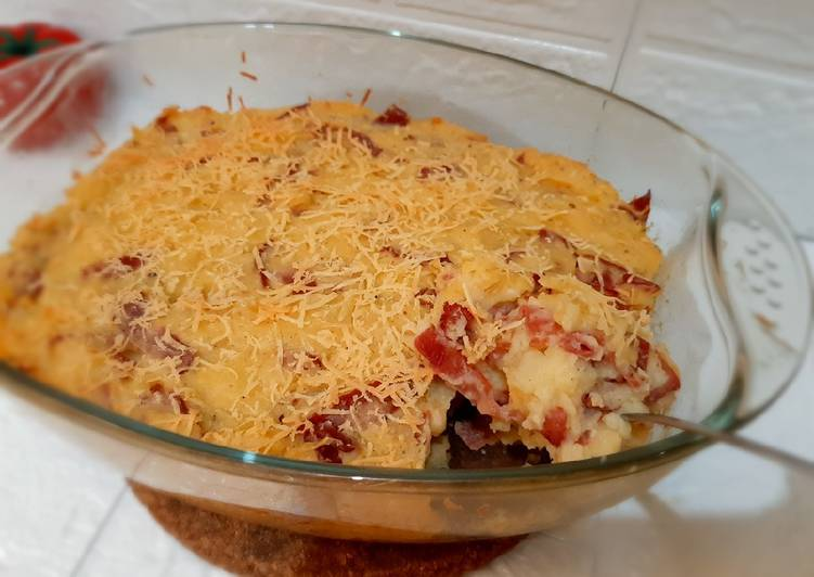 44. Baked Cheesy Mashed Potato