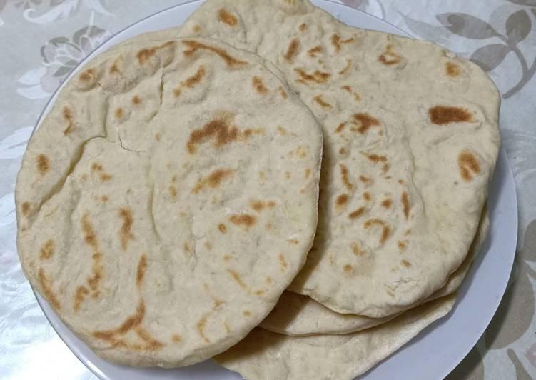 Resep Roti arab (aish baladi) khas negara arab Paling Joss