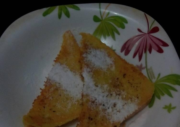 Resep Roti panggang teflon kesukaan pak suami Paling Top